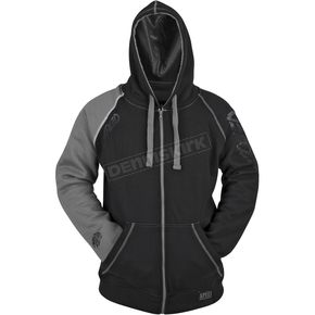 Speed and Strength Grey/Black United By Speed Armored Hoody - 87-8914