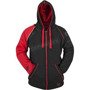 Speed and Strength Red/Black United By Speed Armored Hoody - 87-8920