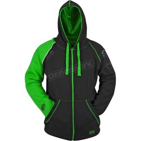Speed and Strength Green/Black United By Speed Armored Hoody - 87-8935