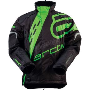 Arctiva Black/Green Comp Jacket - 3120-1378