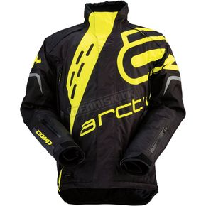 Arctiva Black/Yellow Comp RR Jacket - 3120-1411