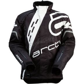 Arctiva Black/White Comp RR Jacket - 3120-1415