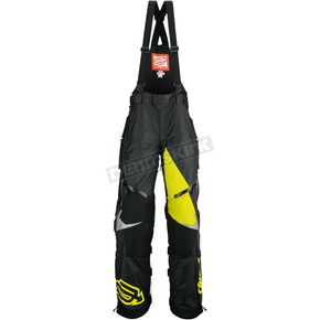 Arctiva Black/Yellow Comp Bibs - 3130-0988