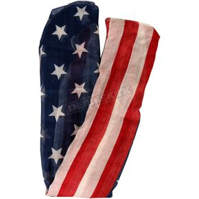 Hot Leathers Vintage USA Flag Scarf - SCF2001
