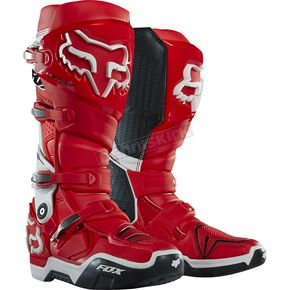Fox Red/White Instinct Boots - 12252-054-9