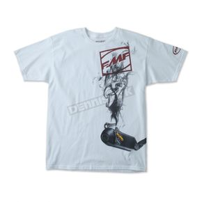 FMF White Boxcage T-Shirt - F151S18117WHL