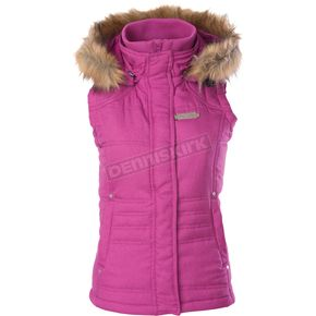 Divas Snowgear Womens Berry Hooded Vest - 97177