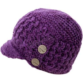 Klim Women's Purple Peak Beanie - 5009-001-000-700