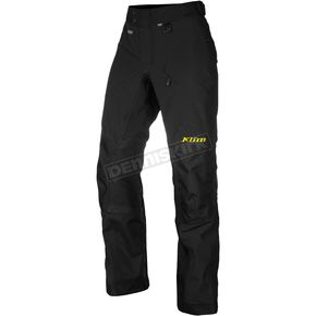 Klim Black Latitude Pants - Tall - 5147-002-232-000