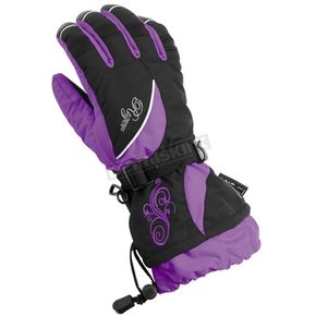 Castle X Womens Grape Rizer G6 Gloves - 74-3339