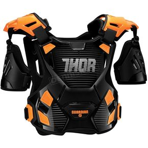 Thor Youth Black/Orange Guardian Roost Deflector - 2701-0805