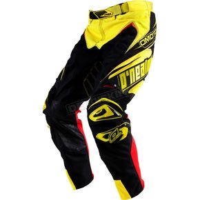 O'Neal Yellow/Black Hardwear Racewear Pants - 0153