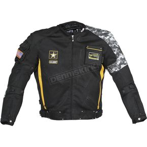 Power-Trip Black/Yellow/Gray Camo U.S. Army Delta Jacket - 0701-4005