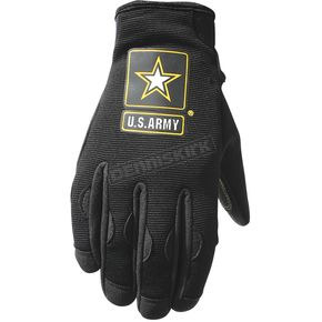 Power-Trip Black U.S. Army Halo Gloves - 0706-4003