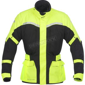 Alpinestars Black/Fluorescent Yellow Cape Town Air Drystar® Jacket - 3204012-155-S