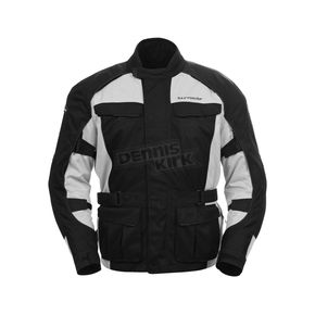 Tour Master Silver/Black Saber 3 Jacket - 8774-0307-06