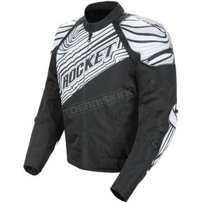 Joe Rocket Black/White Fallout Jacket - 1062-1007