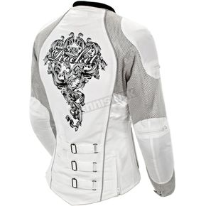 Joe Rocket Womens Silver/White Alter Ego 3.0 Jacket - 1061-6605