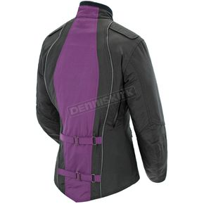 Joe Rocket Womens Purple/Black Alter Ego 3.0 Jacket - 1061-6803
