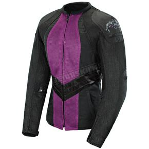 Joe Rocket Womens Purple/Black Alter Ego 3.0 Jacket - 1061-6807