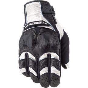 Joe Rocket White/Black Phoenix 4.0 Black Gloves - 1056-1707