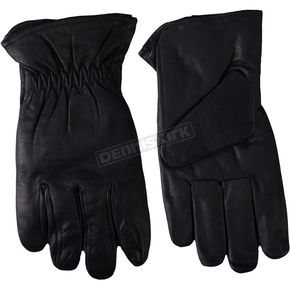 Hot Leathers Waterproof Leather Gloves - GVM1018XS