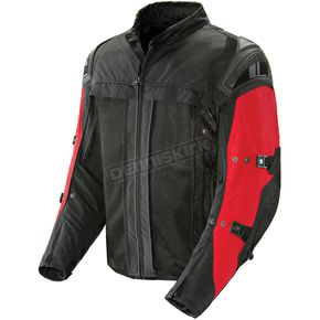 Joe Rocket Red/Black Rasp 2.0 Jacket - 1252-1106