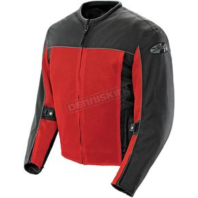 Joe Rocket Red/Black Velocity Jacket - 1254-0107