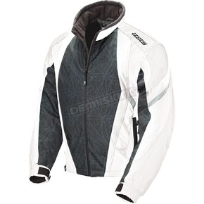 HJC Womens White/Black Storm Jacket - 1306-031
