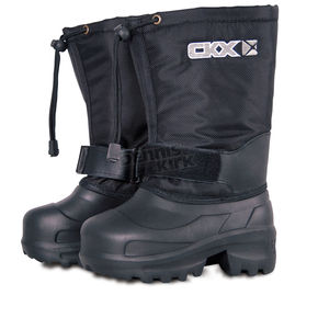 CKX Black 12 in. Ultra Lightweight Taiga Boots - 032641