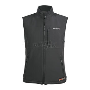 Mobile Warming Black Classic Heated Vest - 7109-0905-16