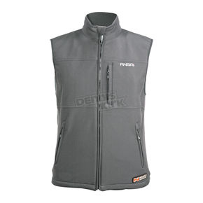 Mobile Warming Gunmetal Classic Heated Vest - 7109-0907-06