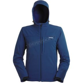 Mobile Warming Navy Silverpeak Jacket - SILVERPEAK