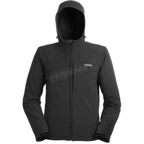 Mobile Warming Black Silverpeak Jacket - SILVERPEAK