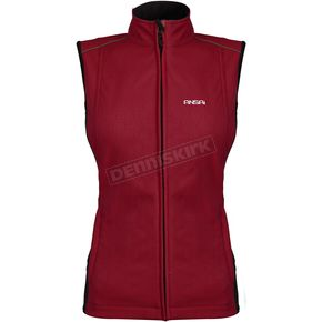 Mobile Warming Womens Wine Jackii Vest - 7211-0211-76