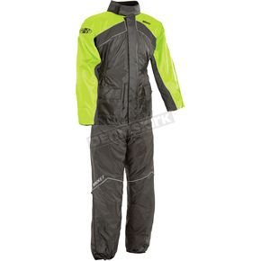 Black/Hi-Viz Neon RS-2 Two Piece Rainsuit - 1010-2405