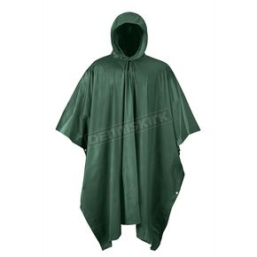 Forest Green Emergency Travel Poncho - 51-111FG