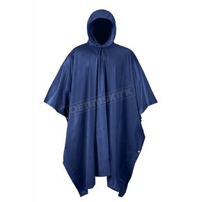 Mossi Navy Blue Emergency Travel Poncho - 51-111NB