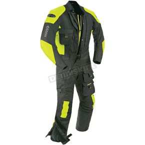 Joe Rocket Black/Hi-Viz Survivor Suit - 1370-4602
