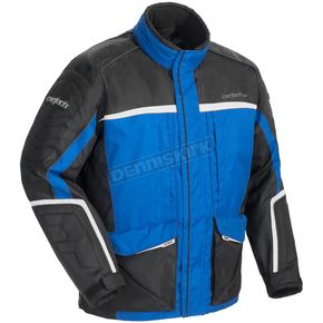 Cortech Womens Blue/Black/Silver Cascade 2.0 Jacket - 8940-0202-74