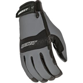 Joe Rocket Gunmetal/Black RX14 Crew Touch Gloves - 1336-1607