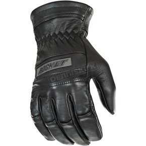 Joe Rocket Black Classic Leather Gloves - 1338-1004