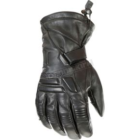 Joe Rocket Black Windchill Leather Gloves - 1344-1005