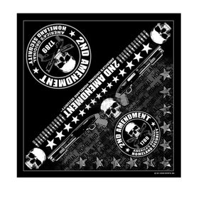 Hot Leathers 2nd Amendment Bandana - BAB1051