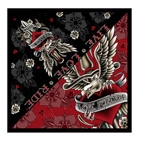 Hot Leathers Dagger Heart Bandana - BAB1066