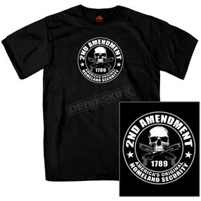 Black 2nd Amendment T-Shirt