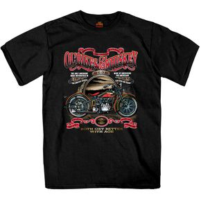 Black Ol' Bikes and Whiskey T-Shirt