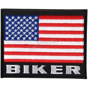Hot Leathers American Biker Flag Patch - PPF5001