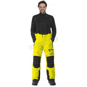 CKX Hi-Viz Yellow/Black Climb Snowmobile Pants  - 183432