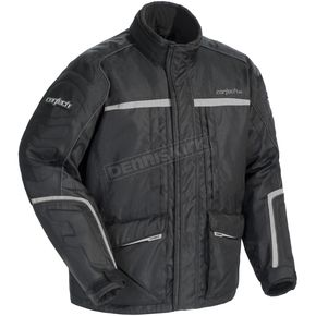 Cortech Black/Silver Cascade 2.1 Snowmobile Jacket - 8940-1405-06